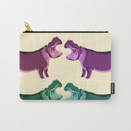 Hippo Friends Carry-All Pouch