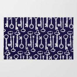 Keys Pattern Rug