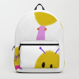 Four alien friends Backpack