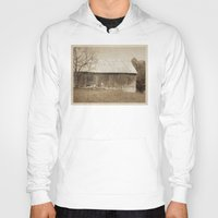 tennessee Hoodies featuring Tennessee Farm Vintage Barn by Phil Perkins