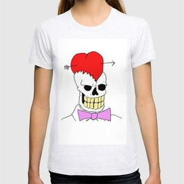 Mort Moonguts Head Cracked Open With Love. T-shirt