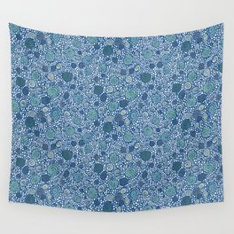 Pebbles and Shells Wall Tapestry