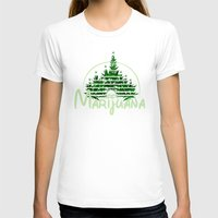 marijuana T-shirts featuring Marijuana  by FandomizedRose