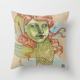 DANCING DRAGON Throw Pillow