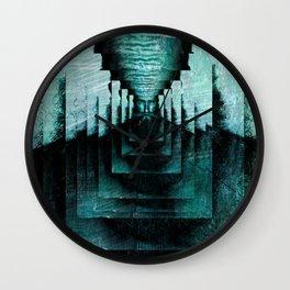Mirror Man Wall Clock
