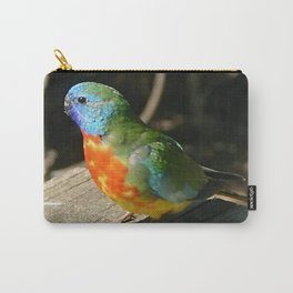 Scarlet-Chrested Parrot (Neophema splendida) Carry-All Pouch