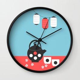 Tea time, Japan Wall Clock