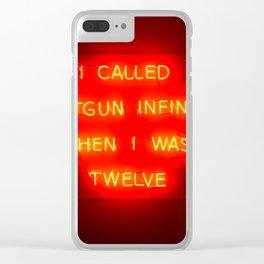 Shotgun Clear iPhone Case