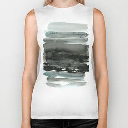 layered ink Biker Tank