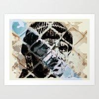 jack nicholson Art Prints featuring Jack Nicholson by ARTito