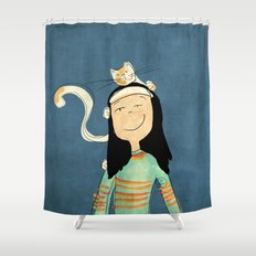 Marcela Shower Curtain