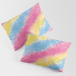 Pan Watercolor Pride Pillow Sham