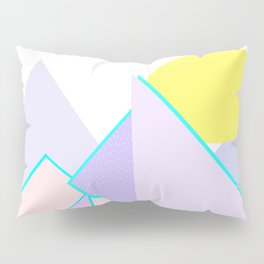 Hello Mountains - Lavender Hills Pillow Sham