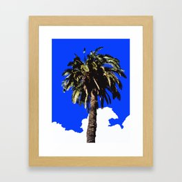 Palm Tree in Lisbon Framed Art Print