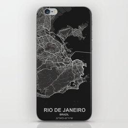 Rio de Janeiro dark iPhone Skin