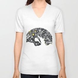 The Dragon And The Dire Unisex V-Neck