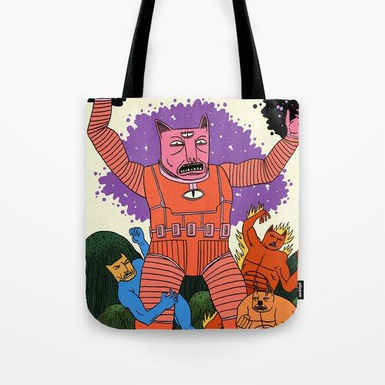 Catastic Four Tote Bag