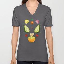 Avocado Mandala Unisex V-Neck