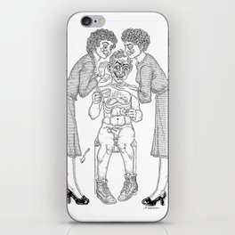 The Defamation of Normal Rockwell II (NSFW) iPhone Skin