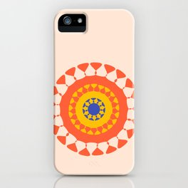 Mandala One iPhone Case