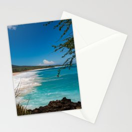 Big Beach from Little Beach Stationery Cards
