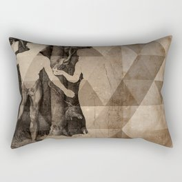 Adam & Eve Rectangular Pillow