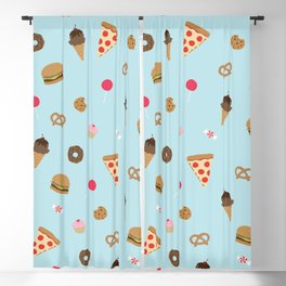 snack attack Blackout Curtain
