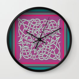 Celtic Jardincillo Wall Clock