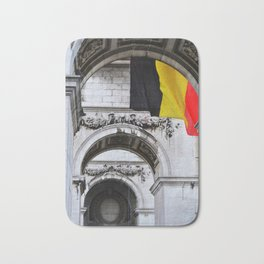 Belgium Flag Bath Mat