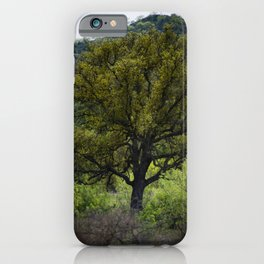 Texas Hill Shadow iPhone Case