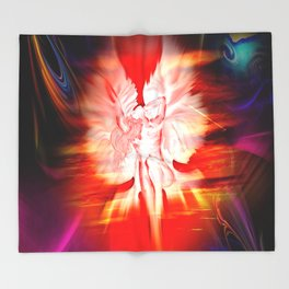 Heavenly apparition 5 Throw Blanket