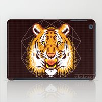 thundercats iPad Cases featuring Geometric Tiger by chobopop