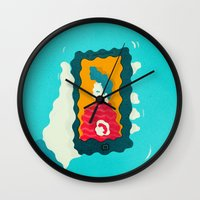 drunk Wall Clocks featuring Drunk Dialing by Mark Conlan