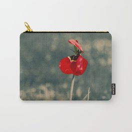 Lonely Red Flower Carry-All Pouch