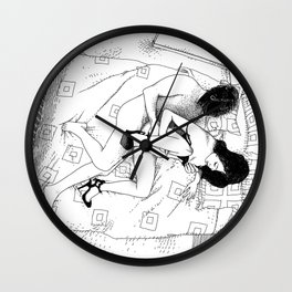 asc 547 - My New Year's resolutions - July Wall Clock