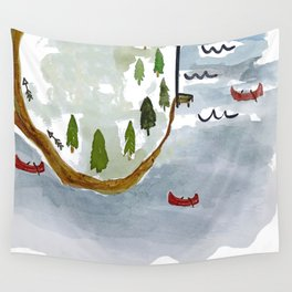On the Lake Wall Tapestry