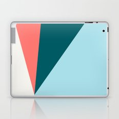 Blue Red Triangles Laptop & iPad Skin