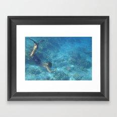 Under the Sea Framed Art Print