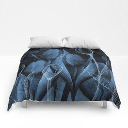 Blue Tulips Comforters