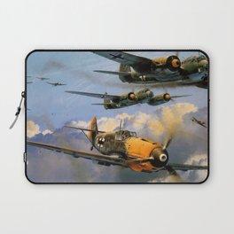 Bf 109 Escort Laptop Sleeve