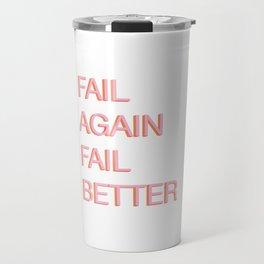 Fail. Beckett. Travel Mug