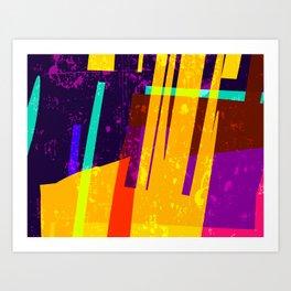 Gels Art Print