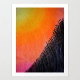 """""""Along the lake.."""" Art Print"""