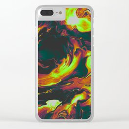 WAITING FOR THE BAD THING Clear iPhone Case