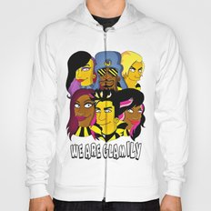 WE ARE GLAMILY (the Simpsons version) Hoody