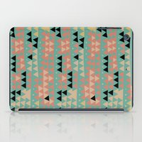 triangles iPad Cases featuring triangles by spinL