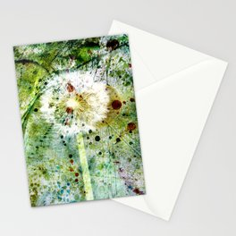 Springtime dandelion Stationery Cards