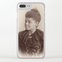 Ida B. Wells, 1893 Clear iPhone Case