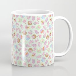 Blushy Attack! Green Version Coffee Mug