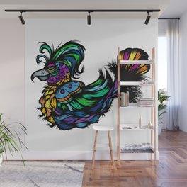 Flamboyant Bird Wall Mural